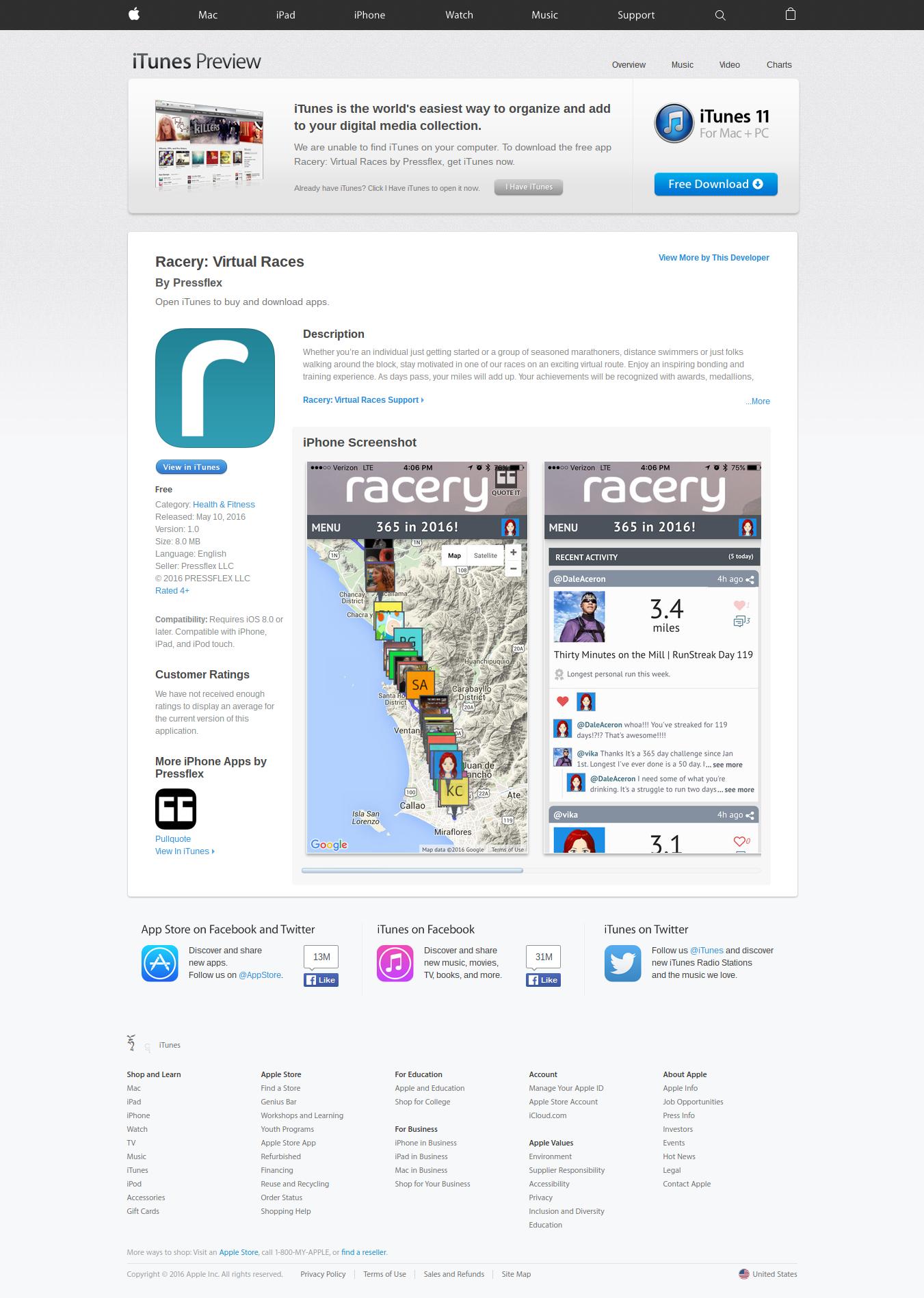 iOS App for virtual runs with 360-degree street views