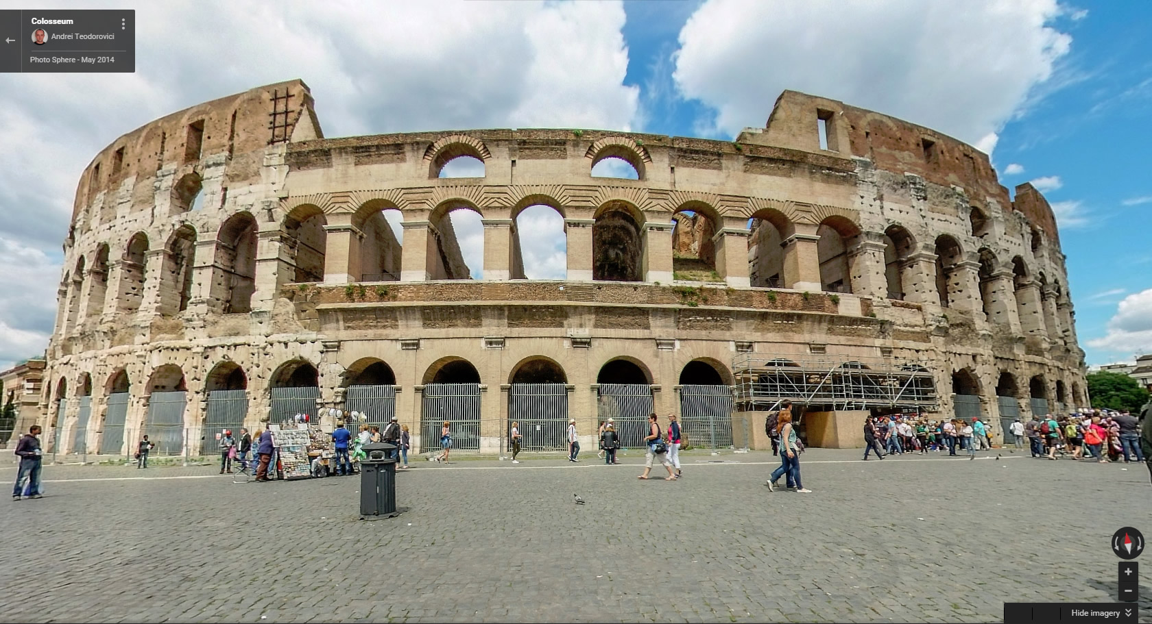 Racery Virtual Races - Rome Colosseum - Street View