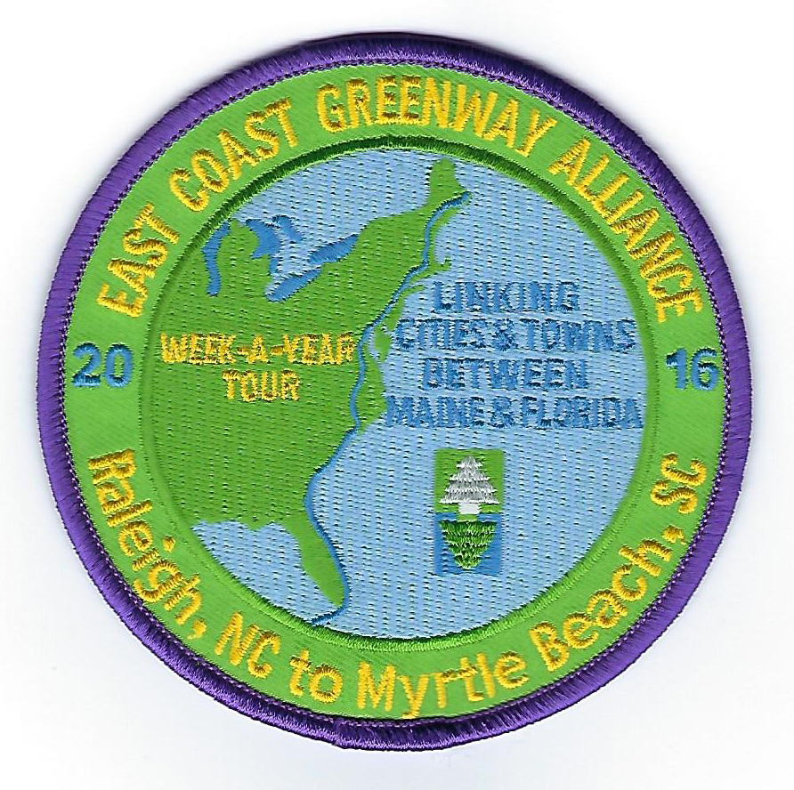 Donors of $100 or more will get this commemorative patch.