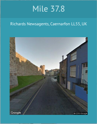 Racery Virtual Races - Street View - Wales Castles