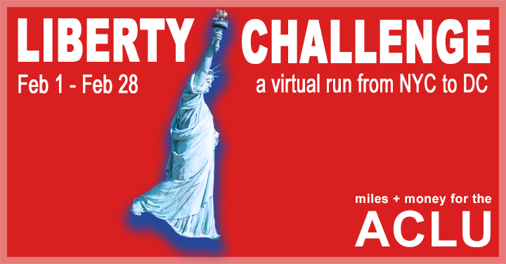 ACLU Liberty Challenge FB Placard