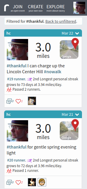 Use hashtags to track your runs, swims, rides (and whatever else!)